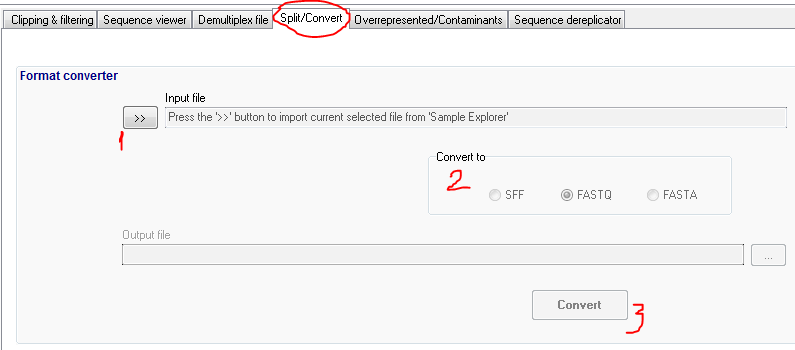 How to convert SFF to FastQ? Free SFF to FastQ/Fasta converter